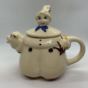 Vintage Shawnee Pottery Tom the Piper's Son Teapot